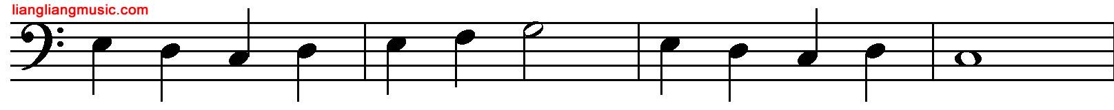 刚刚开始学五线谱