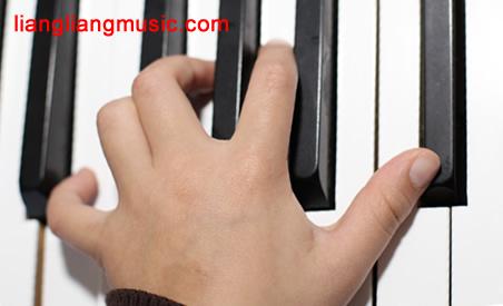 让手腕正对键盘