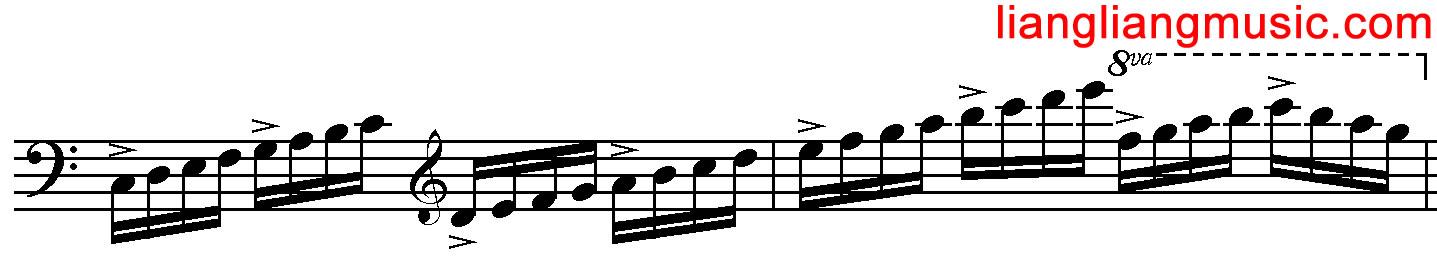 音阶中的节拍强弱